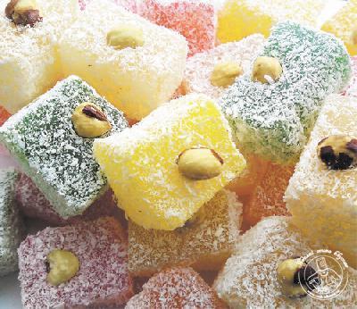 Восточные сладости способны окунуть