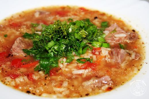 Как сварить суп харчо простой рецепт с