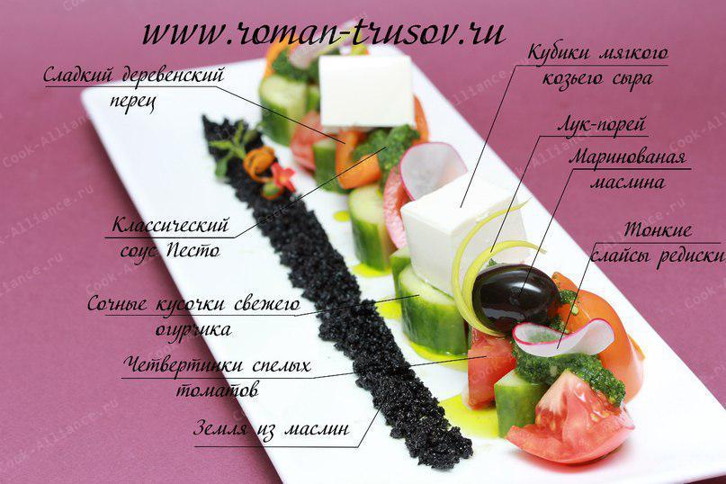 Греческий история салата