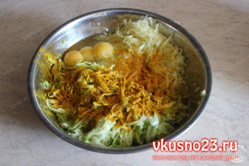 Картофельно кабачковые оладьи рецепт с фото