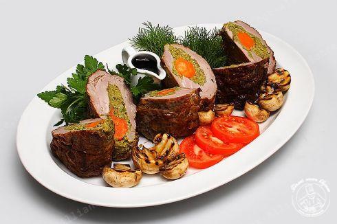 Мясные блюда банкета рецепты